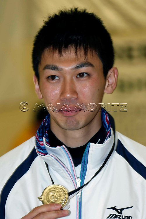 Silver Medals for Japan, men's team, Tetsuro SHIMIZU