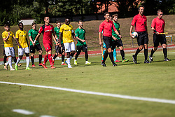 during football match between NK Bravo and NK Rudar Velenje in 1sth Round of Slovenian Cup 2019/20, on August 15, 2019 in Sports park ZAK, Ljubljana, Slovenia. Photo by Grega Valancic / Sportida