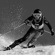 Victoria Bell, Ireland, in action during the Women's Giant Slalom competition at Coronet Peak, New Zealand during the Winter Games. Queenstown, New Zealand, 23rd August 2011. Photo Tim Clayton