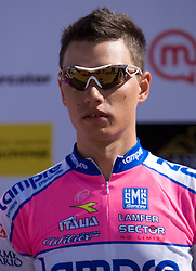 Simon Spilak  (SLO) of Lampre - N.G.C. at 1st stage of Tour de Slovenie 2009 from Koper (SLO) to Villach (AUT),  229 km, on June 18 2009, in Koper, Slovenia. (Photo by Vid Ponikvar / Sportida)
