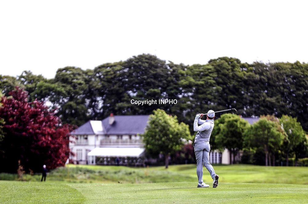 2016 Dubai Duty Free Irish Open Day 2, The K Club, Co. Kildare 20/5/2016<br /> Rory McIlroy at the fourteenth<br /> Mandatory Credit &copy;INPHO/Ryan Byrne