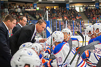 PENTICTON, CANADA - SEPTEMBER 17: Edmonton Oilers' head coach on September 17, 2016 at the South Okanagan Event Centre in Penticton, British Columbia, Canada.  (Photo by Marissa Baecker/Shoot the Breeze)  *** Local Caption ***
