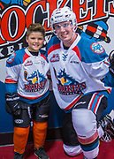 KELOWNA, CANADA - SEPTEMBER 29:  Pepsi Player of the game with Kole Lind #16 of the Kelowna Rockets at the Kelowna Rockets game on September 29, 2017 at Prospera Place in Kelowna, British Columbia, Canada.  (Photo By Cindy Rogers/Nyasa Photography,  *** Local Caption ***