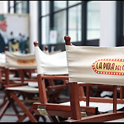 nella foto: la Piola del Cine, il ristorante del Cineporto....Il Cineporto nato dal recupero dell'ex cotonificio Cologno di via Cagliari. La cittadella del cinema ospita gli uffici della Film Commission e gli spazi di servizio per ospitare fino a 5 produzioni in contemporanea.