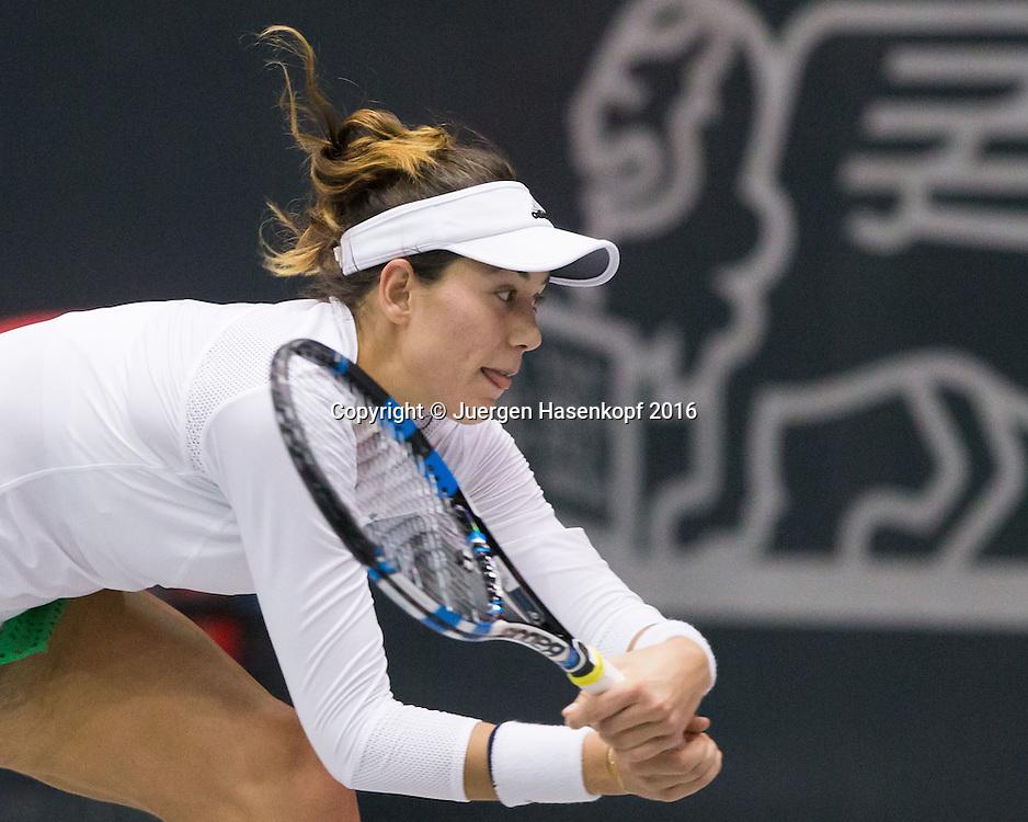 GARBI&Ntilde;E MUGURUZA (ESP)<br /> <br /> Tennis - Ladies Linz 2016 - WTA -  TipsArena  - Linz - Oberoesterreich - Oesterreich - 12 October 2016. <br /> &copy; Juergen Hasenkopf