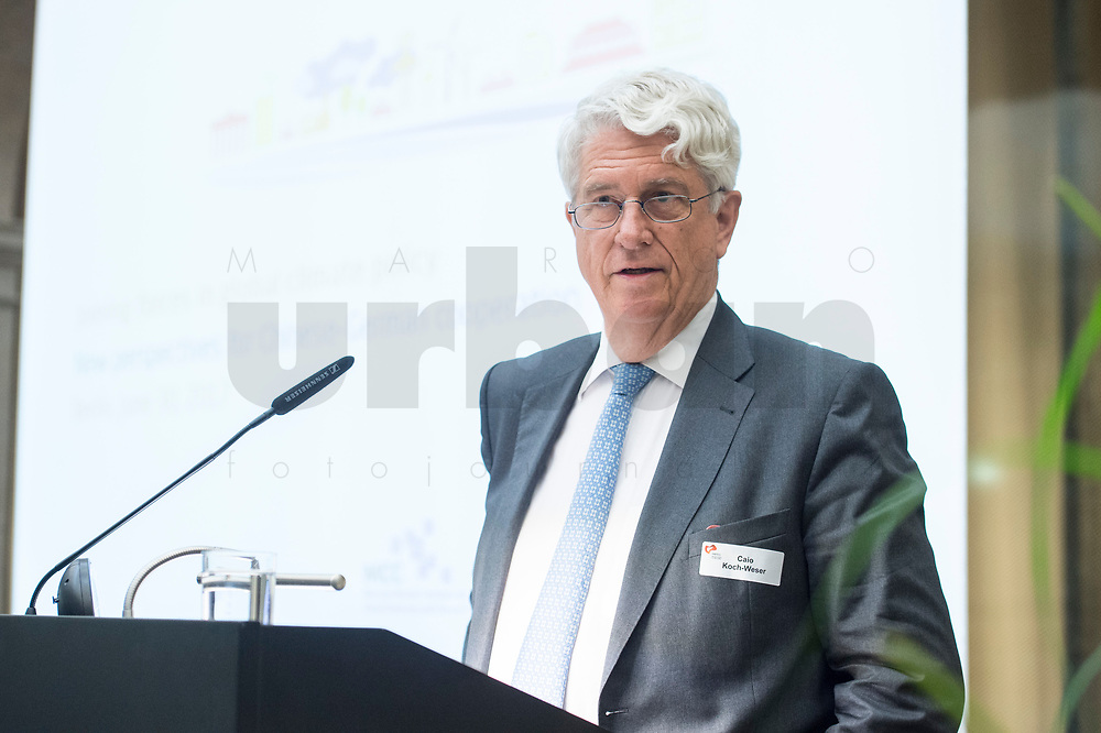 """30 JUN 2017, BERLIN/GERMANY:<br /> Caio Koch-Weser, Vorstandsvorsitzender European Climate Foundation, ECF, Conference """"Joining Forces in Global Climate Policy - New perspectives for Chinese-German Cooperation"""", European Climate Foundation, Mercator Research Institute on Global Commons and Climate Change, MCC, merics, Mercator Institute for China Studies, Berlin-Brandenburgische Akademie der Wissenschaften<br /> IMAGE: 20170630-01-063"""