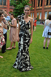 Laura Jackson at the V&A Summer Party 2017 held at the Victoria & Albert Museum, London England. 21 June 2017.<br /> Photo by Dominic O'Neill/SilverHub 0203 174 1069 sales@silverhubmedia.com