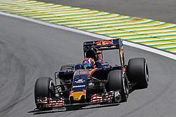 Daniil Kvyat (RUS) Scuderia Toro Rosso <br /> 11.11.2016. Formula 1 World Championship, Rd 20, Brazilian Grand Prix, Sao Paulo, Brazil, Practice Day.<br /> Copyright: Charniaux / XPB Images / action press