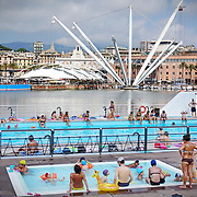 Genova 22/06/17 Piscina del Porto Antico