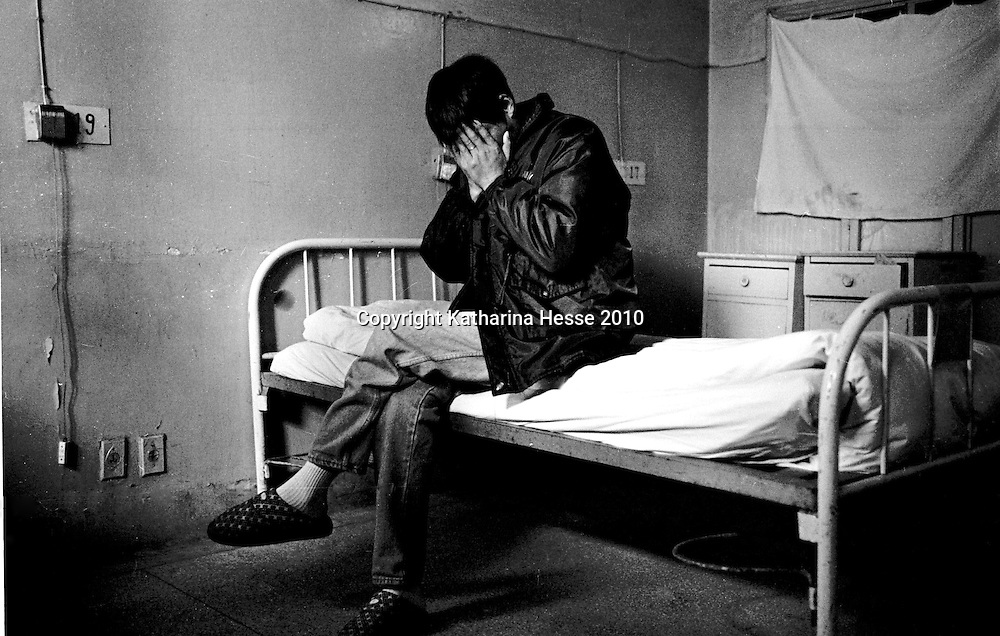 "BEIJING, 2000 : an ""anonymous"" aids patient from Shandong province who came to BJ's You'an hospital for treatment. If his employer knew he's HIV positive, the man said, he'd loose his job immidiately."