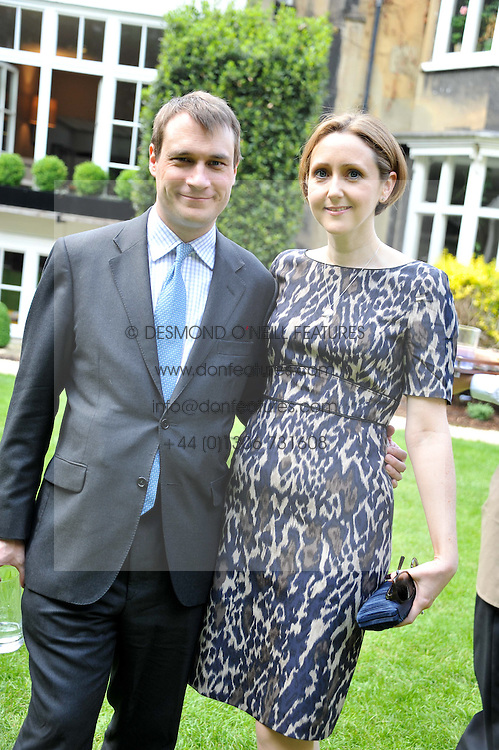The EARL & COUNTESS OF ULSTER at a reception hosted by the Friends of the Castle of Mey held at the Goring Hotel, Beeston Place, London on 22nd May 2012.