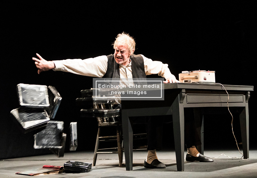Samuel Beckett's moving meditation on time, memory and ageing is performed by renowned Irish actor Barry McGovern, one of the world's most revered interpreters of the great playwright. This brand new production for the Edinburgh International Festival is directed by Michael Colgan, longtime Artistic Director of Dublin's Gate Theatre.