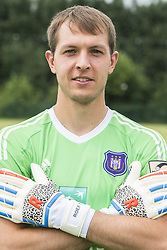 July 11, 2017 - Brussels, BELGIUM - Anderlecht's goalkeeper Davy Roef poses for photographer at the 2017-2018 season photo shoot of Belgian first league soccer team RSC Anderlecht, Tuesday 11 July 2017 in Brussels. BELGA PHOTO LAURIE DIEFFEMBACQ (Credit Image: © Laurie Dieffembacq/Belga via ZUMA Press)