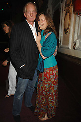 Actor CHARLES DANCE and actress GRETA SCACCHI at the Grand Classics presentation of Ken Loach's Oscar winning film 'Closely Observed Trains' held at the Electric Cinema, Portobello Road, London W11 on 9th July 2007.<br />