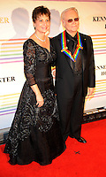 George Jones and wife attend the 31st annual Kennedy Center Honors, at the John F Kennedy Center for the Performing Arts in Washington, DC on December 07, 2008