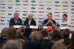Harry Meade, (GBR), Will Conner, (GBR), Jean Marc Varilon, Catrin Norinder - Eventing Cross Country test- Alltech FEI World Equestrian Games™ 2014 - Normandy, France.<br /> © Hippo Foto Team - Dirk Caremans<br /> 30/08/14