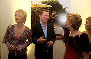 Kirsty Young, Nick Jones and Jo Malone Jo Malone 10th anniversary party. The Undercroft, The  Banqueting House. Whitehall. 21 October 2004. ONE TIME USE ONLY - DO NOT ARCHIVE  © Copyright Photograph by Dafydd Jones 66 Stockwell Park Rd. London SW9 0DA Tel 020 7733 0108 www.dafjones.com