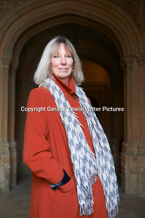 Lucy Hughes-Hallett at Christchurch College, The Oxford  Literary Festival<br /> 17th March 2013<br /> <br /> Photograph by Geraint Lewis/Writer Pictures<br /> <br /> <br /> WORLD RIGHTS