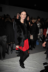 LIBERTY ROSS at the Issa Autumn Winter 2011 fashion show as part of the London Fashion Week held at Somerset House, Strand, London on 19th February 2011.