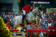 Devin RYAN (USA) riding Eddie Blue during the Nations Cup of the World Equestrian Festival, CHIO of Aachen 2018, on July 13th to 22th, 2018 at Aachen - Aix la Chapelle, Germany - Photo Christophe Bricot / ProSportsImages / DPPI
