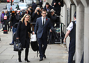 Andy Coulson arrives at the Old Bailey on November 01, 2013.<br /> <br /> Coulson will stand trial alongside former managing editor Stuart Kuttner; former news editor Ian Edmondson; and Rebekah Brooks. All deny conspiracy to intercept mobile phone voicemail messages. Coulson and former NotW royal editor Clive Goodman deny charges of conspiracy to commit misconduct in a public office. Brooks also denies two charges of this. She also faces charges of conspiracy to pervert the course of justice, along with former personal assistant Cheryl Carter, 49, husband Charlie Brooks, 50, and NI head of security Mark Hanna, 50. <br /> Photo Ki Price