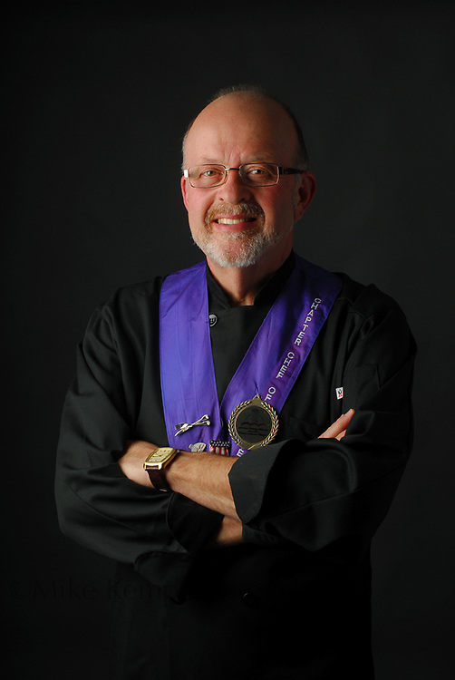 Chef Don Bingham, photographed for a publicity package