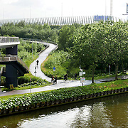 June 14, 2016 - 18:07<br /> The Netherlands, Amsterdam - Westelijke Merwedekanaaldijk
