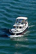 Motorboot, Bodensee, Bayern, Deutschland