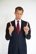 Nederland. Voorburg. 08-06-2018. Greg Shapiro. Amerikaanse-Nederlandse acteur en comedian. Bekend als de stem van President Donald Trump in het filmpje 'The Netherlands Second', gemaakt voor het programma 'Zondag met Lubach'. Foto: Gerrit de Heus.                        The Netherlands. Voorburg. Greg Shapiro is an American-Dutch actor and comedian and voice of President Donald Trump in 'The Netherlands Second'. Photo: Gerrit de Heus