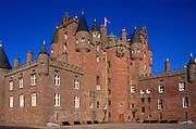 Glamis castle, Angus, Scotland