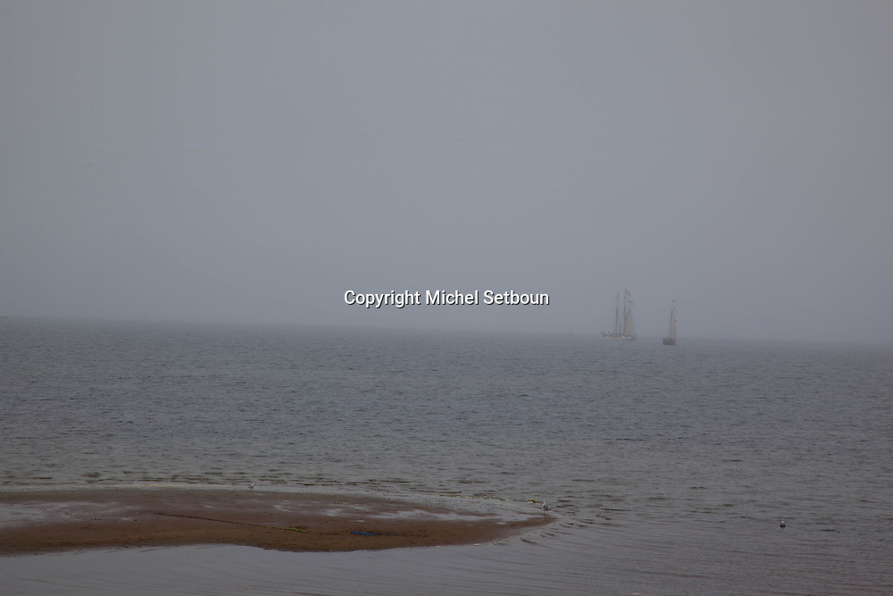United States. Cape Cod in Massachussets. the seashore in provincetown city in