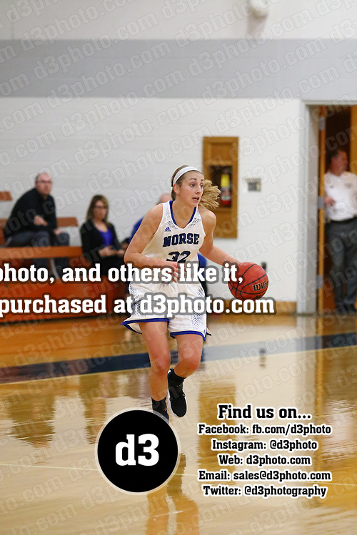 Luther College defeated Alverno College 82-62 in non-conference action at The Regents Center on the campus of Luther College in Deborah, Iowa, on November 28, 2016.