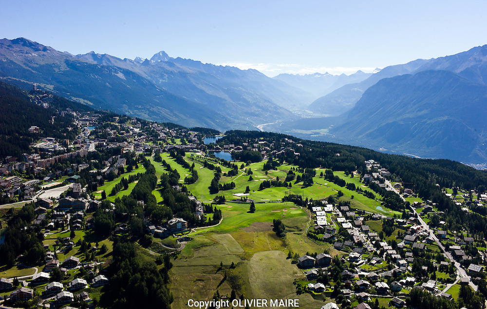CRANS MONTANA ETE TOURISME ALPES MONTAGNES..2011..(PHOTO-GENIC.CH/ OLIVIER MAIRE)