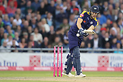 Yorkshires David Willey during the Vitality T20 Blast North Group match between Lancashire County Cricket Club and Yorkshire County Cricket Club at the Emirates, Old Trafford, Manchester, United Kingdom on 20 July 2018. Picture by George Franks.