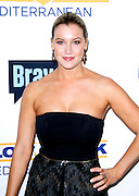 """attends Bravo's """"Below Deck"""" Premiere at The IAC Building in New York City, New York on April 27, 2016."""