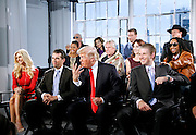 """Donald Trump and celebrity cast attend the """"All-Star Celebrity Apprentice"""" press conference at Jack Studios in New York City, New York on October 12, 2012."""