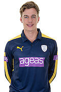 Hampshire right-arm pace bowler Brad Wheal in the 2016 Royal London One Day Cup Shirt. Hampshire CCC Headshots 2016 at the Ageas Bowl, Southampton, United Kingdom on 7 April 2016. Photo by David Vokes.