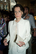 JAYNE WRIGHTSMAN, Book launch party for  Sashenka, a romantic novel set in St Petersburg following a society girl who becomes involved with the Communist Party. By Simon Sebag-Montefiore. Asprey. New Bond St. London. 1 July 2008.  *** Local Caption *** -DO NOT ARCHIVE-© Copyright Photograph by Dafydd Jones. 248 Clapham Rd. London SW9 0PZ. Tel 0207 820 0771. www.dafjones.com.