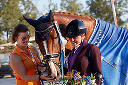 Voets Sanne, NED, Demantur<br /> World Equestrian Games - Tryon 2018<br /> © Hippo Foto - Sharon Vandeput<br /> 22/09/2018
