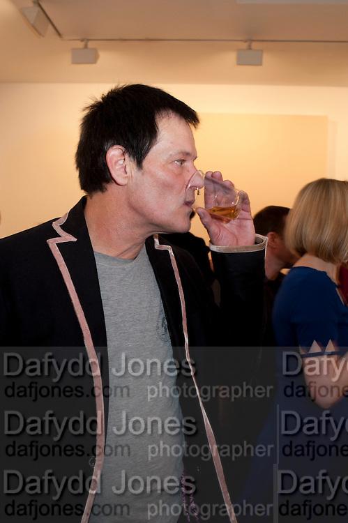 ROBERT HAWKINGS, 'Engagement' exhibition of work by Jennifer Rubell. Stephen Friedman Gallery. London. 7 February 2011. -DO NOT ARCHIVE-© Copyright Photograph by Dafydd Jones. 248 Clapham Rd. London SW9 0PZ. Tel 0207 820 0771. www.dafjones.com.