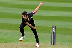 Somerset's Lewis Gregory - Photo mandatory by-line: Harry Trump/JMP - Mobile: 07966 386802 - 30/03/15 - SPORT - CRICKET - Pre Season Fixture - T20 - Somerset v Gloucestershire - The County Ground, Somerset, England.