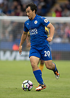 Football - 2016/2017 Premier League - Leicester Ciity V Arsenal. <br /> <br /> Shinji Okazaki of Leicester City at The King Power Stadium.<br /> <br /> COLORSPORT/DANIEL BEARHAM