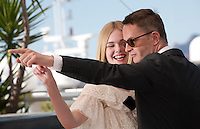 Director Nicolas Winding Refn  and actress Elle Fanning at the The Neon Demon film photo call at the 69th Cannes Film Festival Friday 20th May 2016, Cannes, France. Photography: Doreen Kennedy