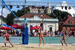 Ana Skarlovnik of Slovenia at Beach Volleyball Challenge Ljubljana 2014, on August 2, 2014 in Kongresni trg, Ljubljana, Slovenia. Photo by Matic Klansek Velej / Sportida.com