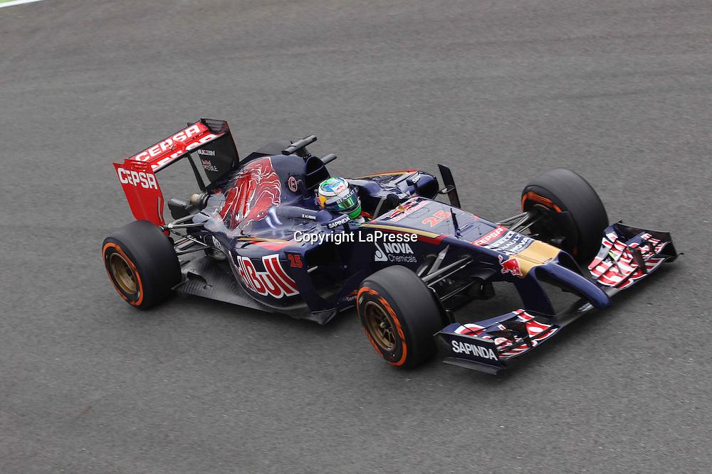 &copy; Photo4 / LaPresse<br /> 05/09/2014 Monza, Italy<br /> Sport <br /> Grand Prix Formula One Italy 2014<br /> In the pic: Jean-Eric Vergne (FRA) Scuderia Toro Rosso STR9