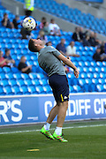 Leeds United Coach James Beattie before the EFL Sky Bet Championship match between Cardiff City and Leeds United at the Cardiff City Stadium, Cardiff, Wales on 17 September 2016. Photo by Andrew Lewis.