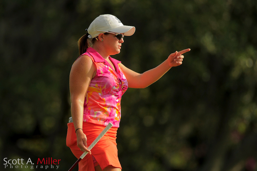 Stephanie Connelly during second round of the Symetra Tour's Guardian Retirement Championship at Sara Bay in Sarasota, Florida April 27, 2013. ..©2013 Scott A. Miller