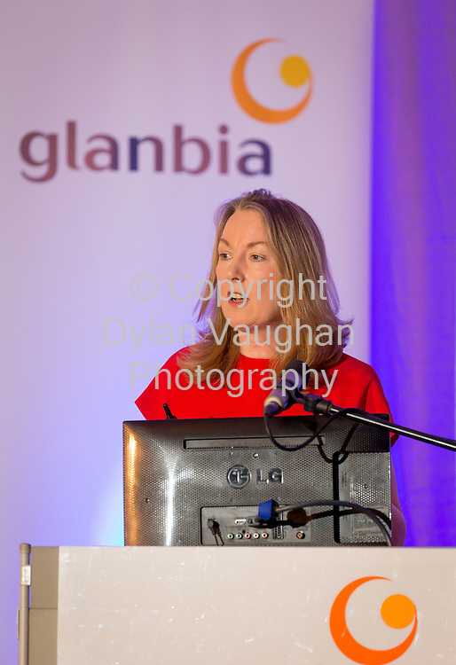 Repro Free No Charge for Repro<br /> <br /> 27/5/16<br /> Pictured at the Glanbia PLC AGM at the Lyrath Estate Hotel in Kilkenny was from left Siobhan Talbot, Group Managing Director.<br /> Picture Dylan Vaughan.