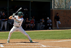 17 April 2016:  Adam Glogovsky during an NCAA division 3 College Conference of Illinois and Wisconsin (CCIW) Pay in Baseball game during the Conference Championship series between the North Central Cardinals and the Illinois Wesleyan Titans at Jack Horenberger Stadium, Bloomington IL