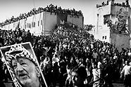 Yassir Arafat burial.